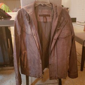 Perry Ellis jacket taupe